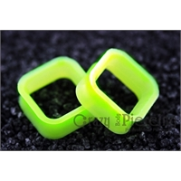 Alargador Square Silicon Lime Green